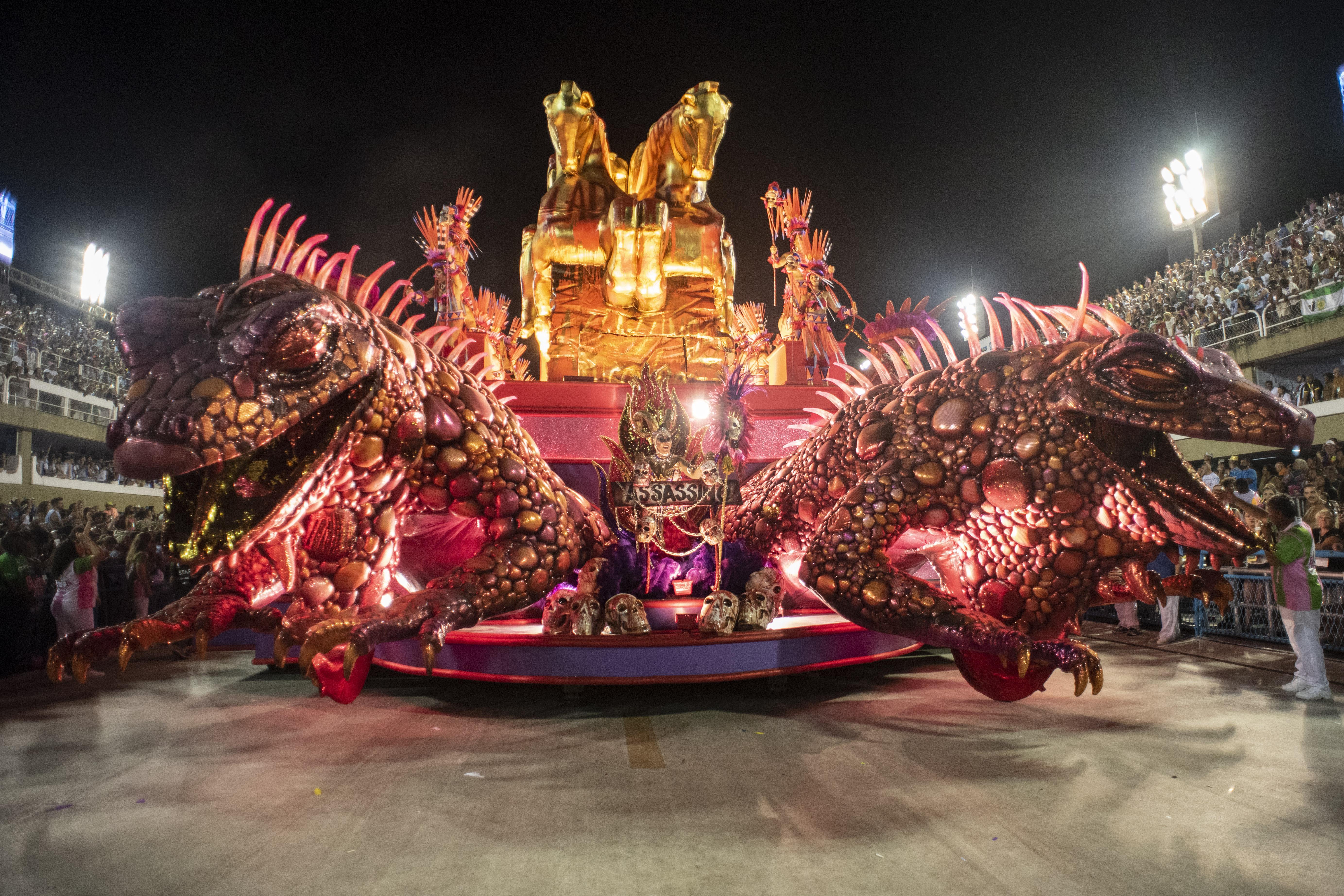 """Carnaval do Rio de Janeiro registou """"recorde absoluto"""" de receitas"""