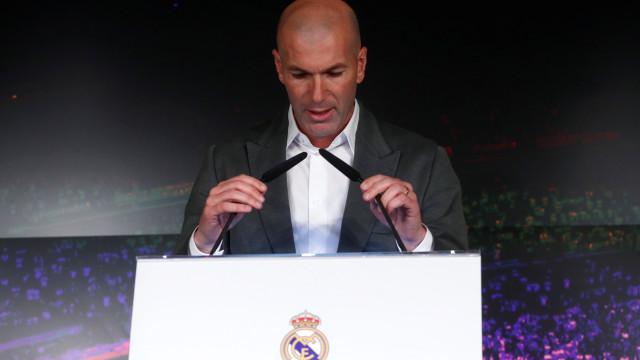 """Regresso de Zizou a Madrid: """"Não tive tempo para ir muito longe"""""""