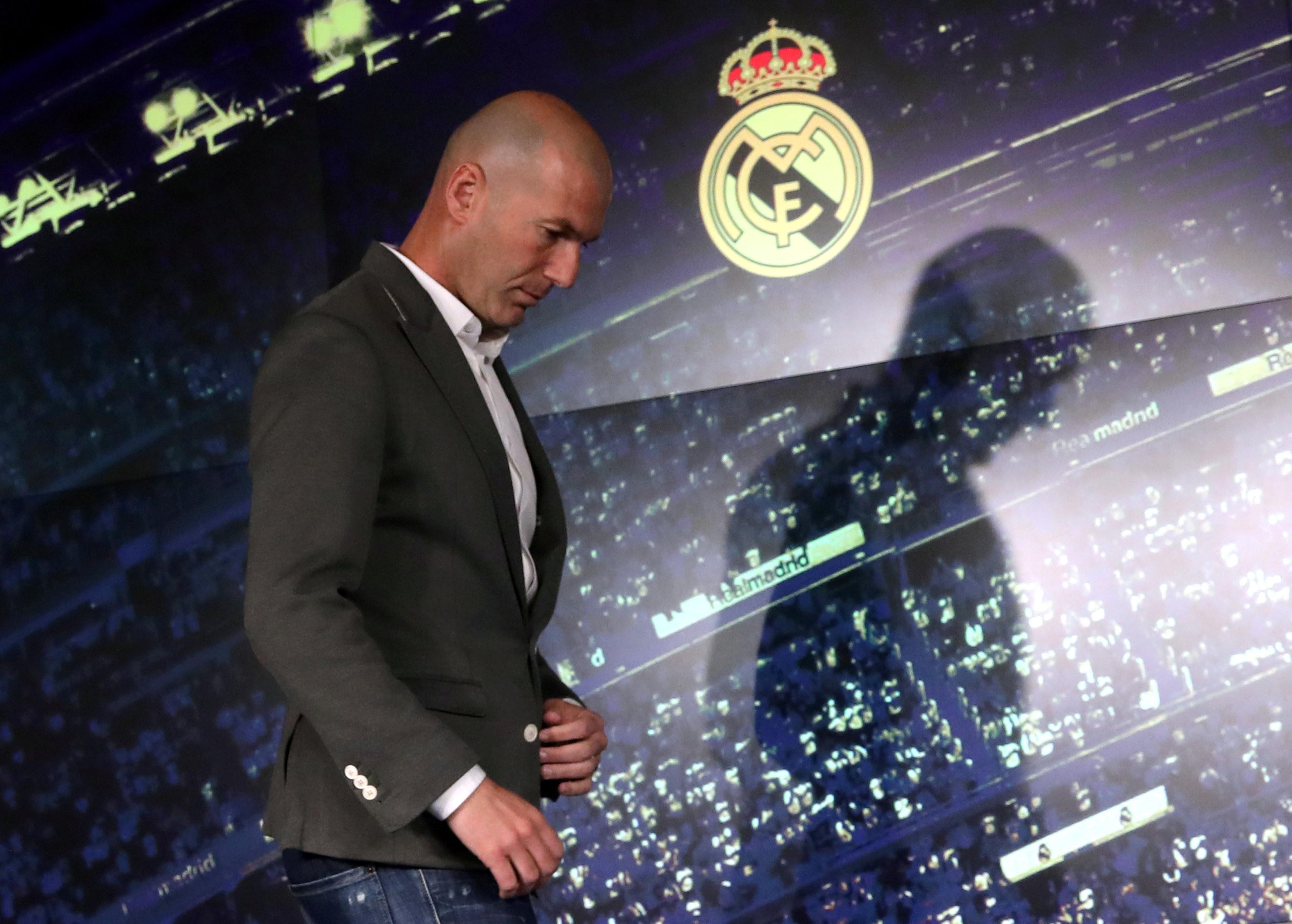 Estilo ou audácia? Zidane arriscou no visual no regresso ao Real Madrid