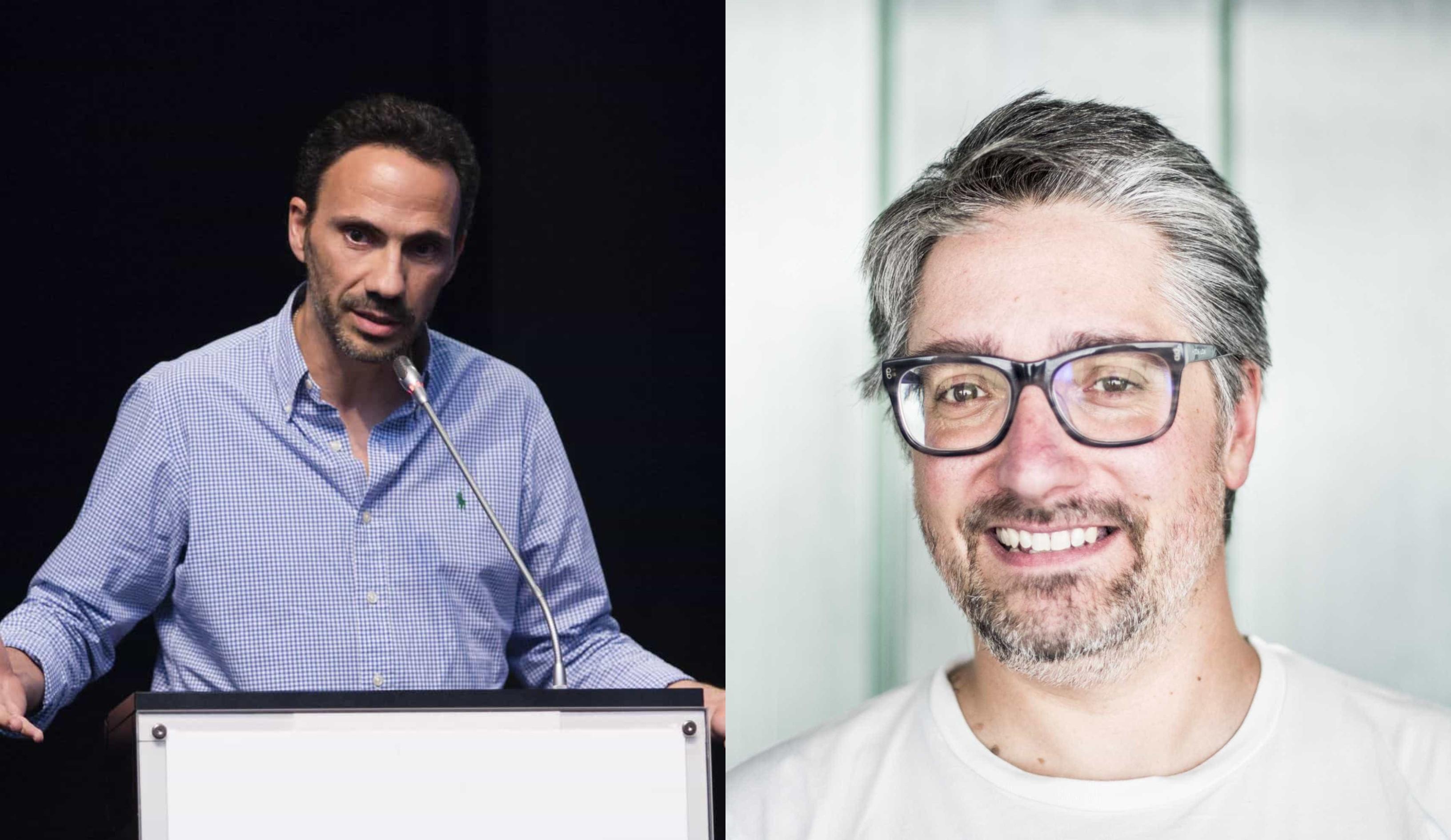 Assim eram Nuno Markl e Pedro Ribeiro há mais de 20 anos