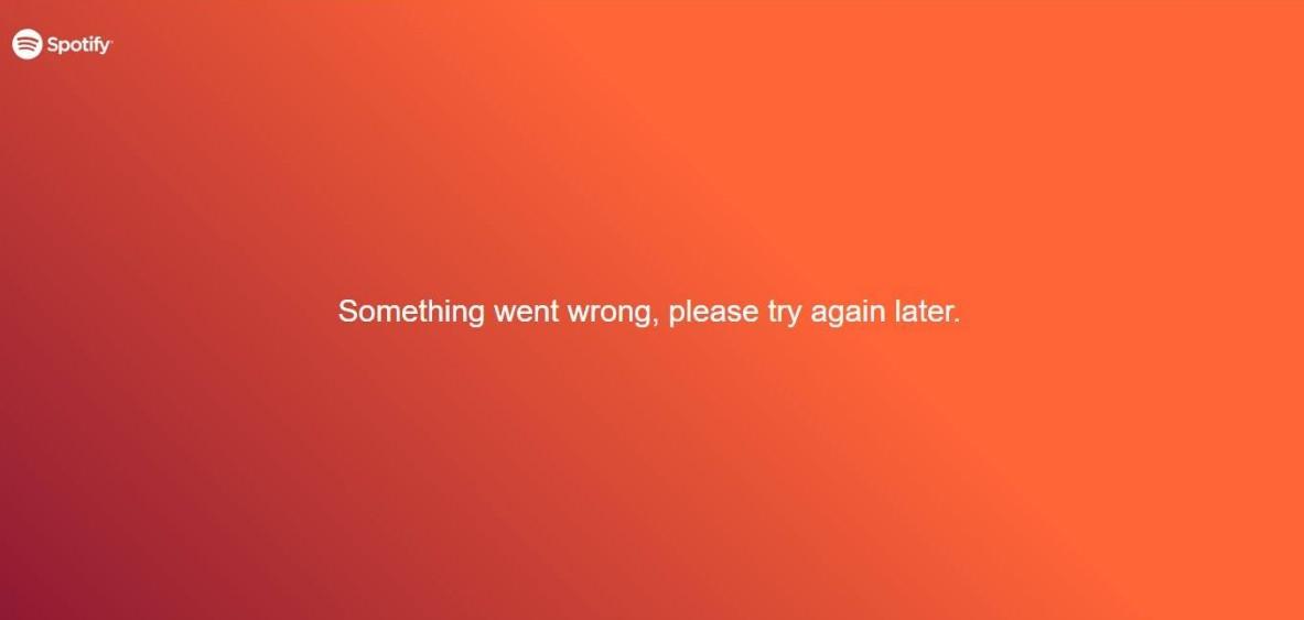 Acabou-se a música? Spotify está com problemas