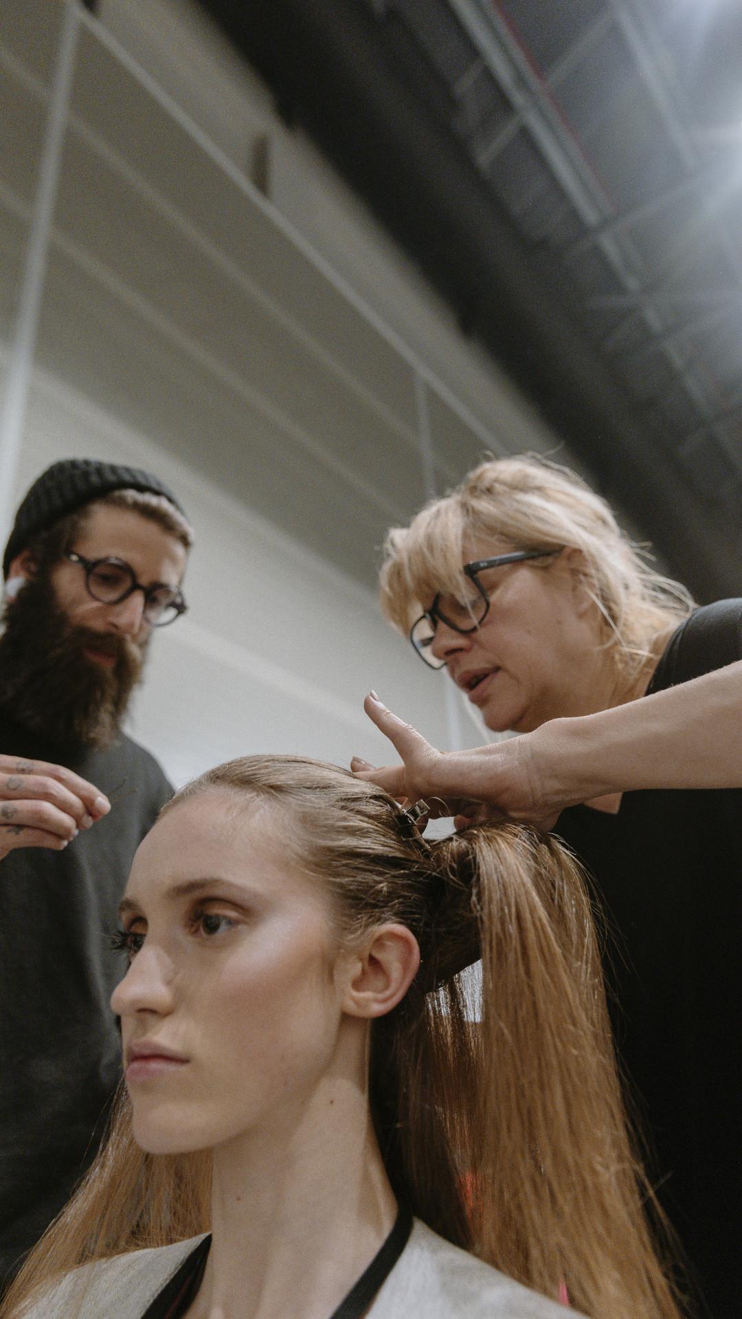 Inspiração. Descubra os melhores penteados da ModaLisboa