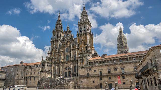 Catedral de Santiago de Compostela vandalizada