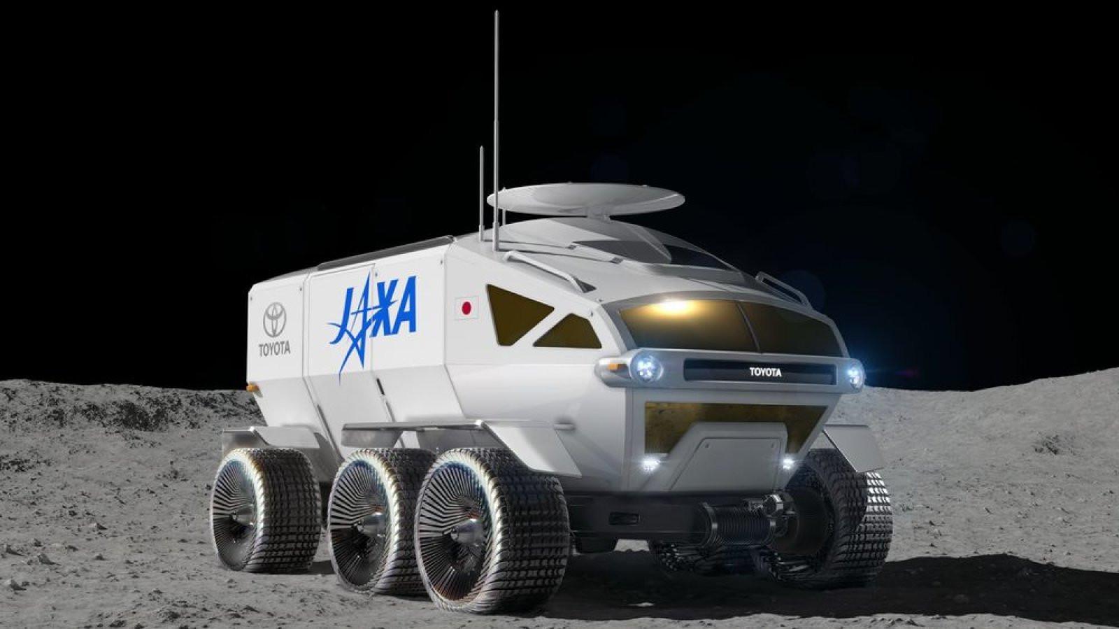 Toyota produz veículo que será usado para explorar Lua