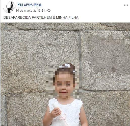 Agressor procura filha no Facebook. Menina está a salvo em casa abrigo