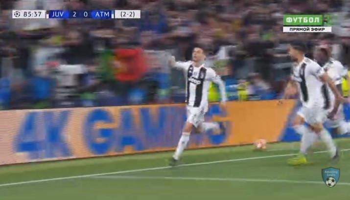 CR7, o 'mister Champions', selou assim o apuramento da Juventus