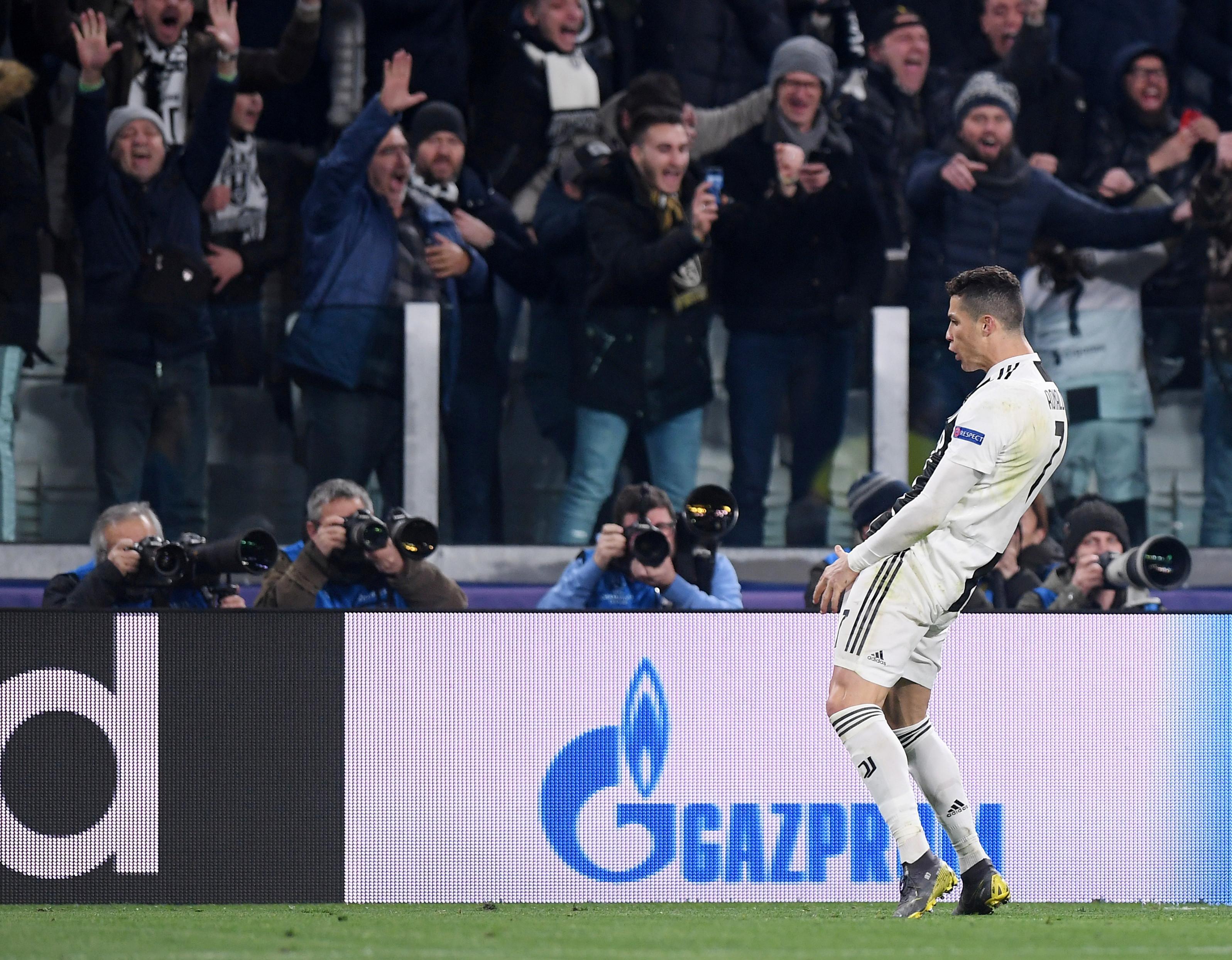 UEFA multa Cristiano Ronaldo por gesto em Turim