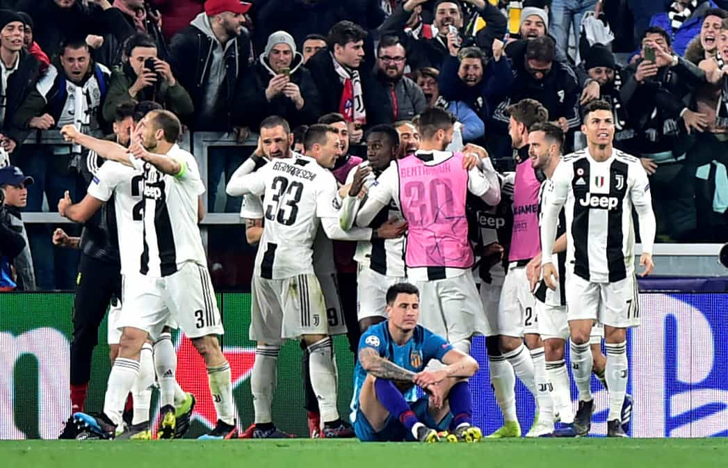 As imagens que não viu na televisão da noite mágica de Cristiano Ronaldo