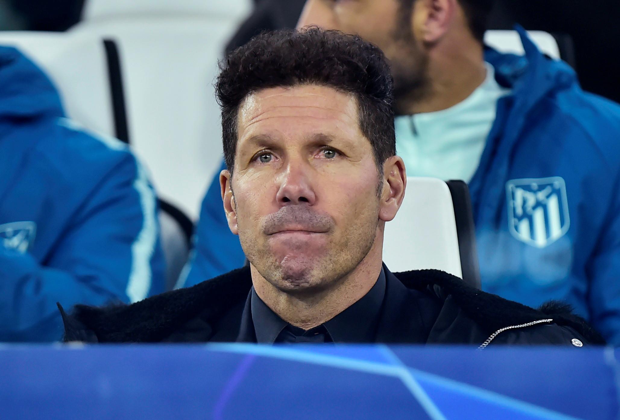 """Simeone após a derrota: """"Errámos em muitas coisas"""""""