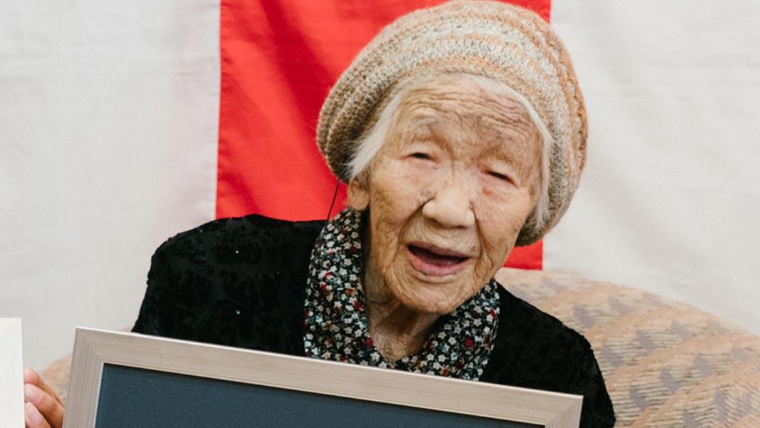 Mulher japonesa de 116 anos é a pessoa mais velha do mundo