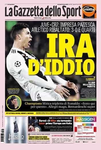 """Lá fora: Ronaldo """"monstruoso"""", """"fenómeno"""" e """"marciano"""""""