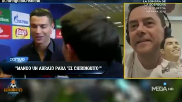 Jornalista espanhol emocionado com a mensagem de Ronaldo