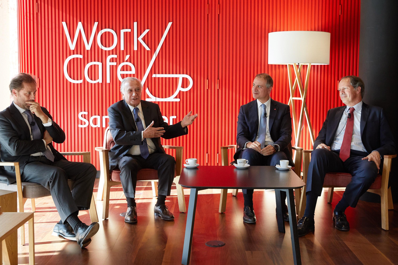Santander inaugura Work Café: Um balcão que é também uma cafetaria