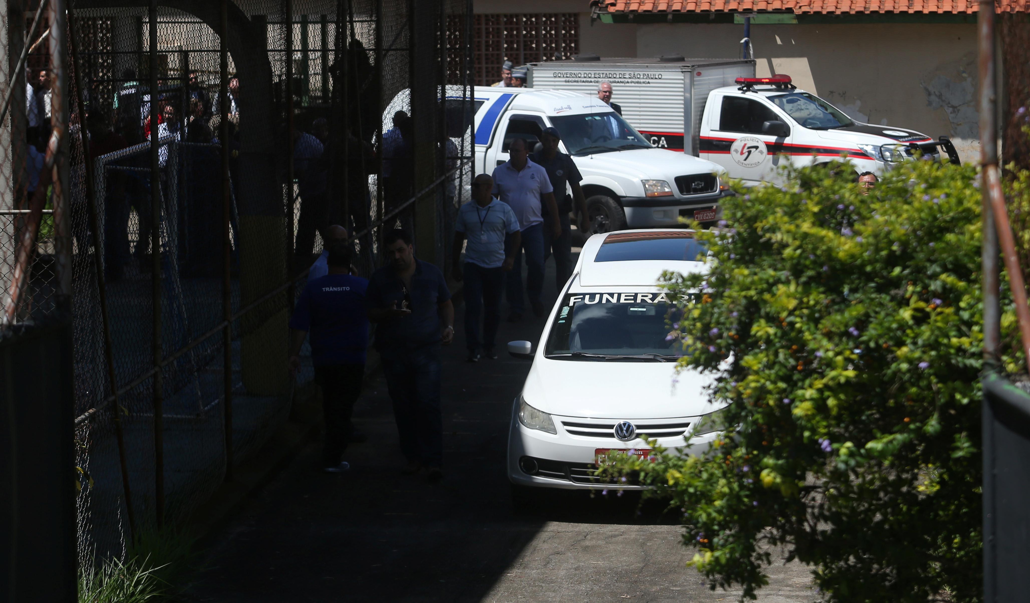 Polícia divulga identidade dos atiradores de escola em São Paulo