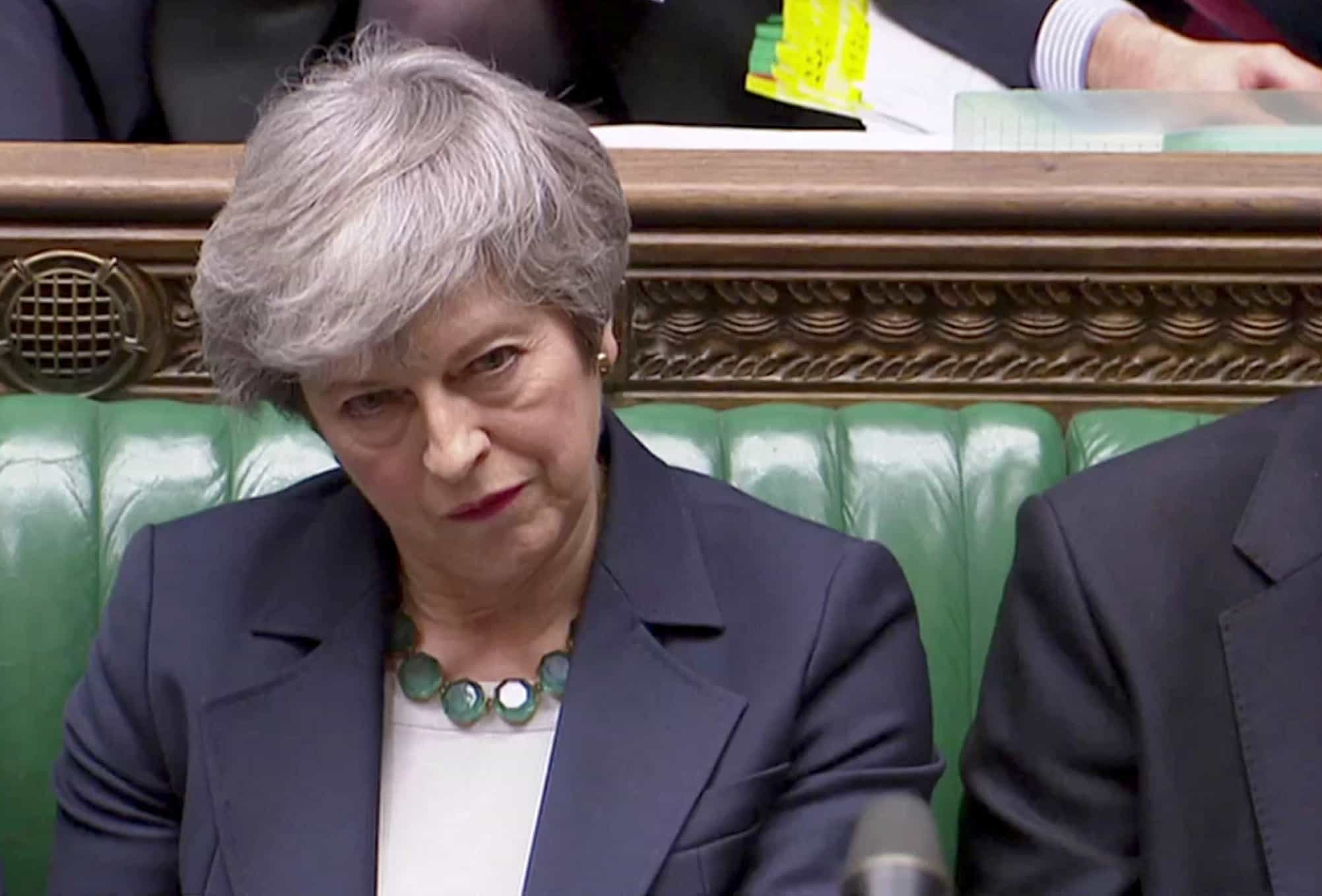 Brexit sem acordo foi rejeitado. Adiamento é o próximo passo?