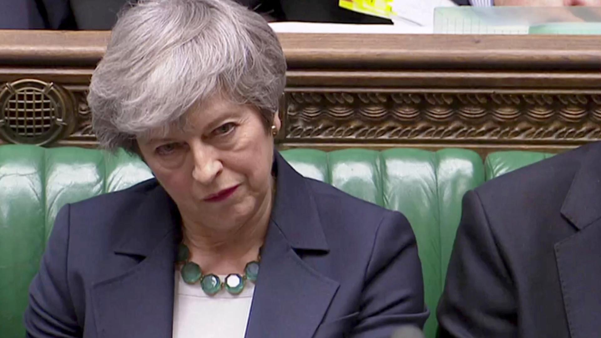 Brexit: May garantiu apoio do governo para novo acordo