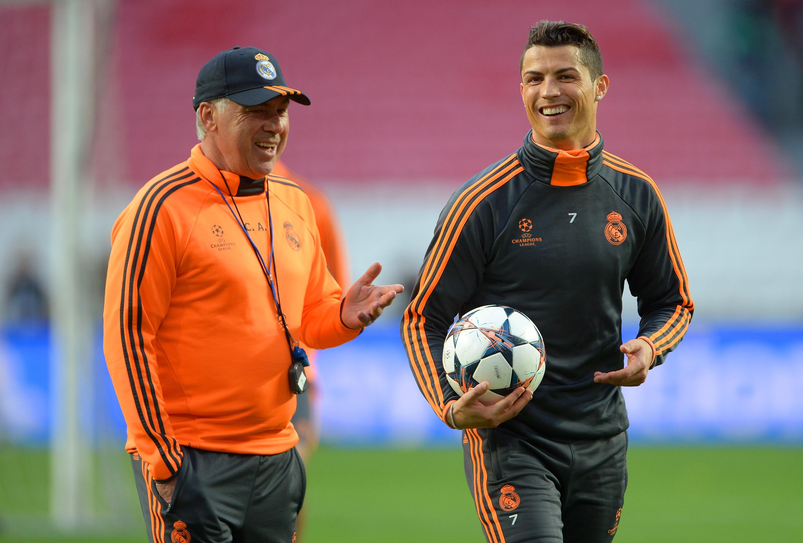 Ancelotti revela o que distingue CR7 dos outros jogadores