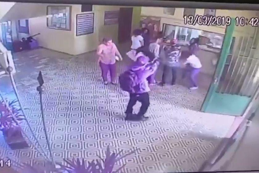 Vídeo mostra atiradores a atacar vítimas da escola do Brasil