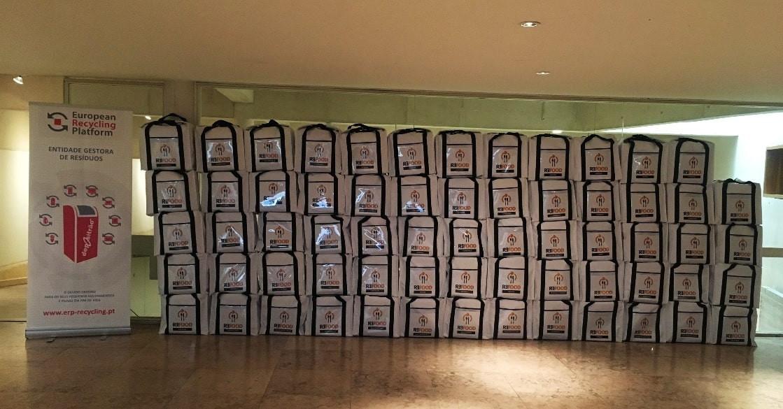ERP Portugal 'transforma' pilhas em equipamentos para a Re-food