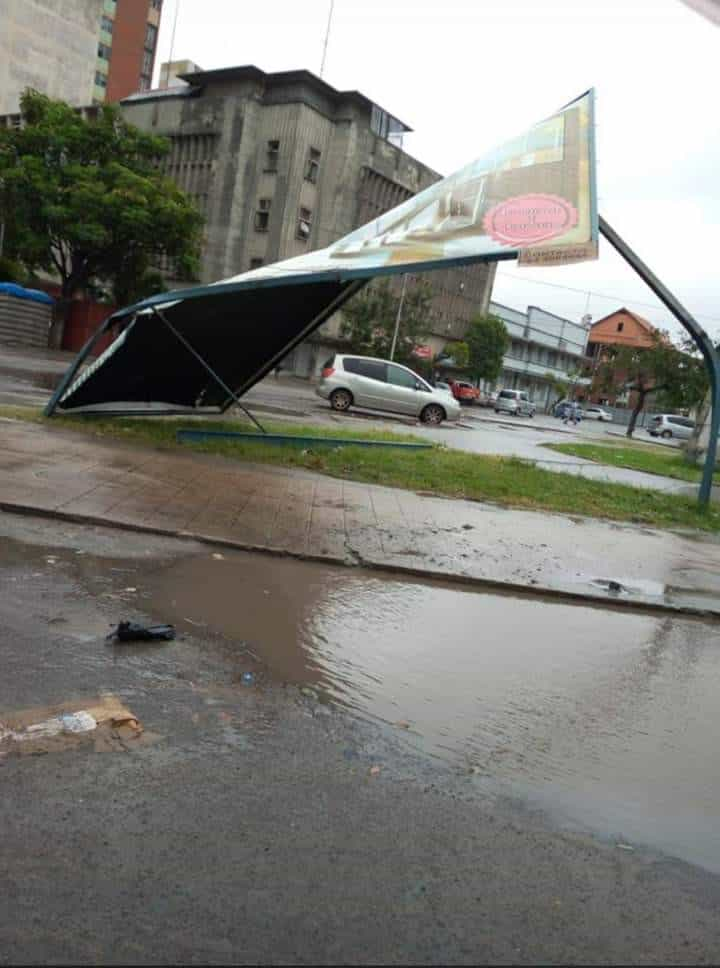 A devastação provocada à passagem do ciclone Idai no continente africano