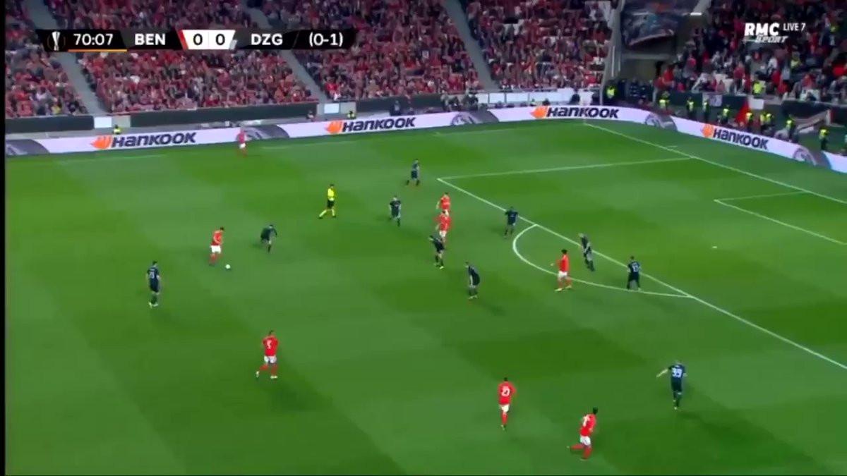 'Carambola' de Jonas põe Benfica na luta pelos quartos da Liga Europa