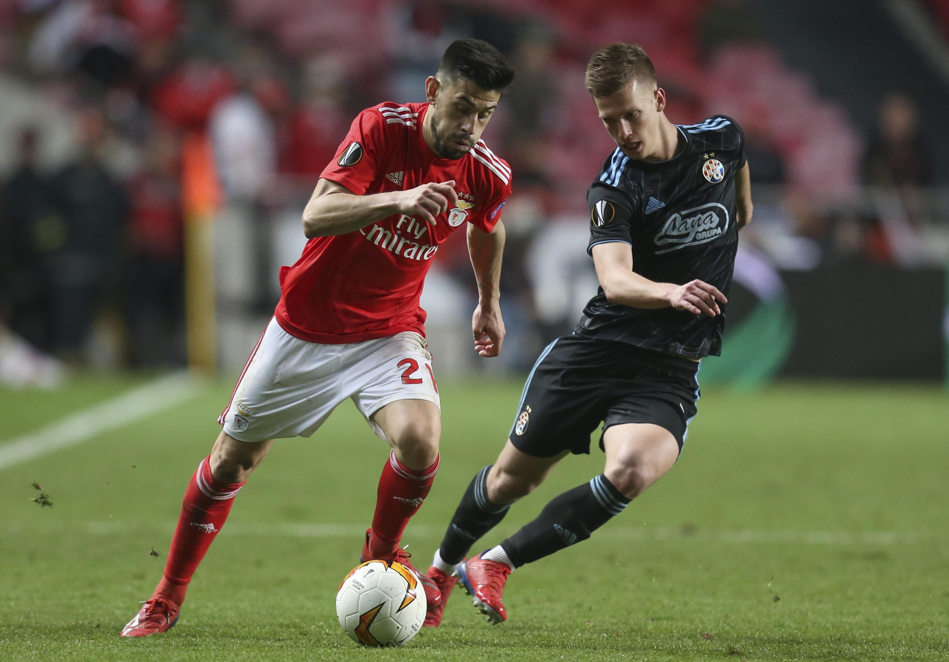 As imagens que não viu na televisão do Benfica-Dínamo Zagreb