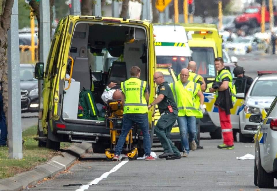 """""""Foi em Christchurch, para provar que em nenhum lado há segurança"""""""