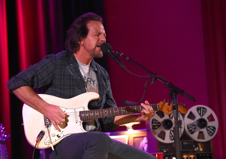 Bilhetes para concerto de Eddie Vedder já esgotaram. Conseguiu o seu?