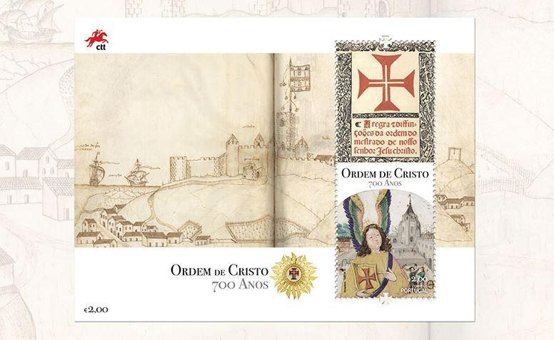 Os 700 anos da Ordem de Cristo em selos