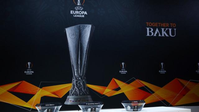 Liga Europa: Benfica já conhece o adversário para os 'quartos'