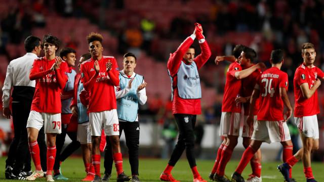 Benfica é a equipa mais representada no onze da semana da Liga Europa