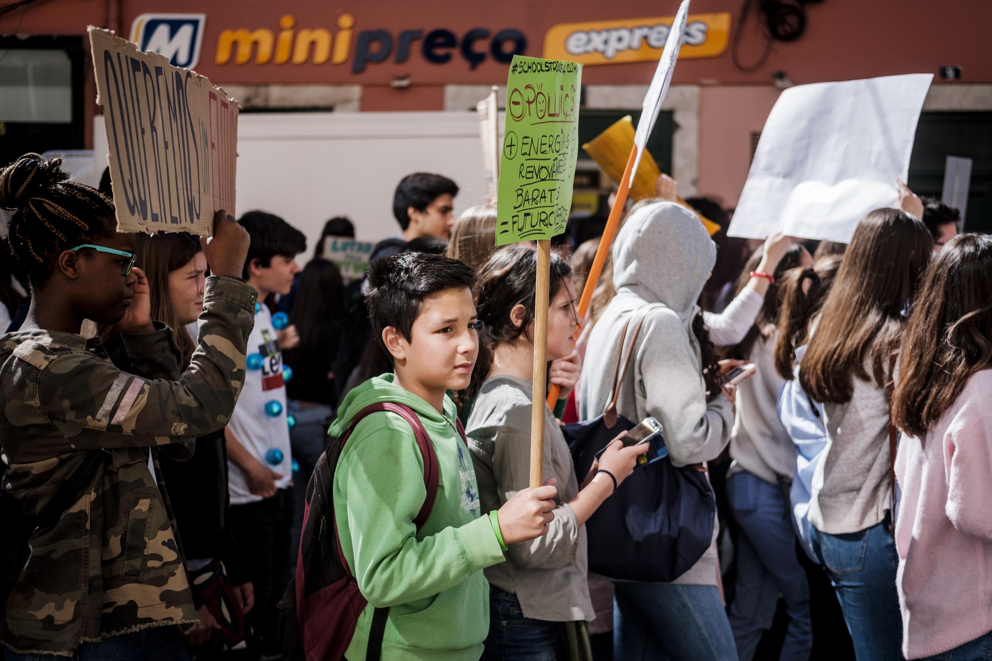 O dia em que milhares de jovens portugueses fizeram greve pelo planeta