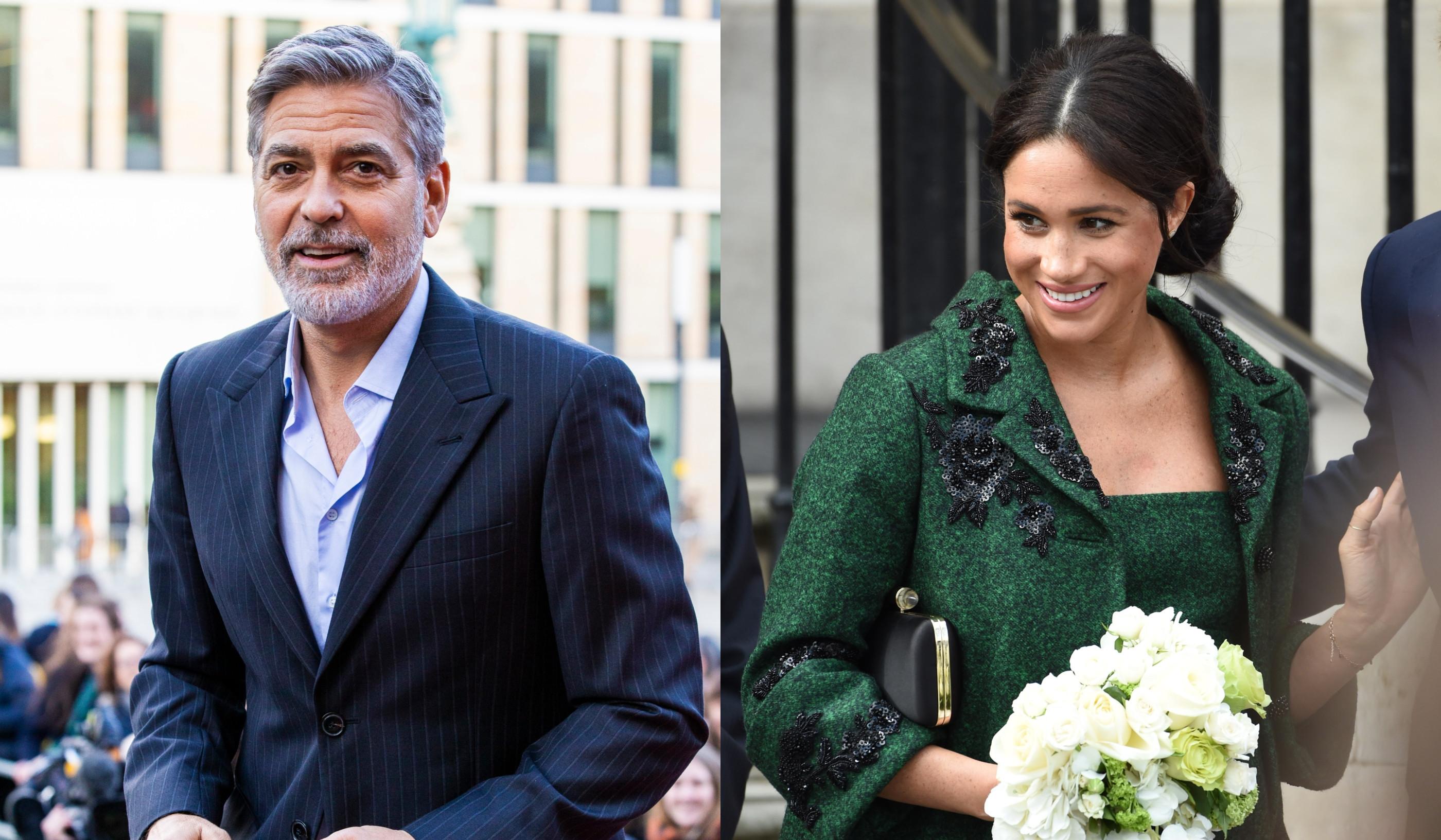 "Para George Clooney, Meghan Markle está a ser ""injustiçada"""