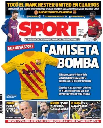 Barcelona vai ter equipamento especial para Clássicos