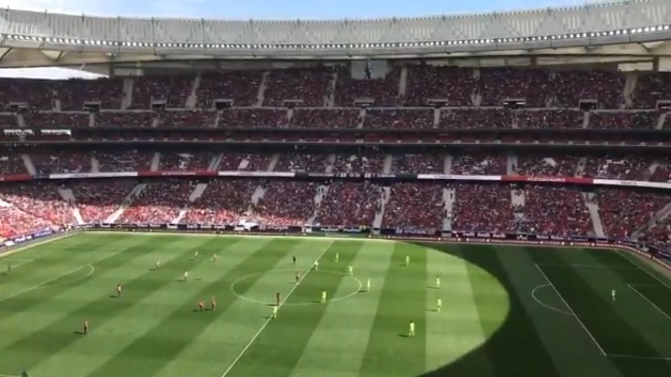 História no futebol feminino: 60 mil espectadores no Atlético-Barcelona