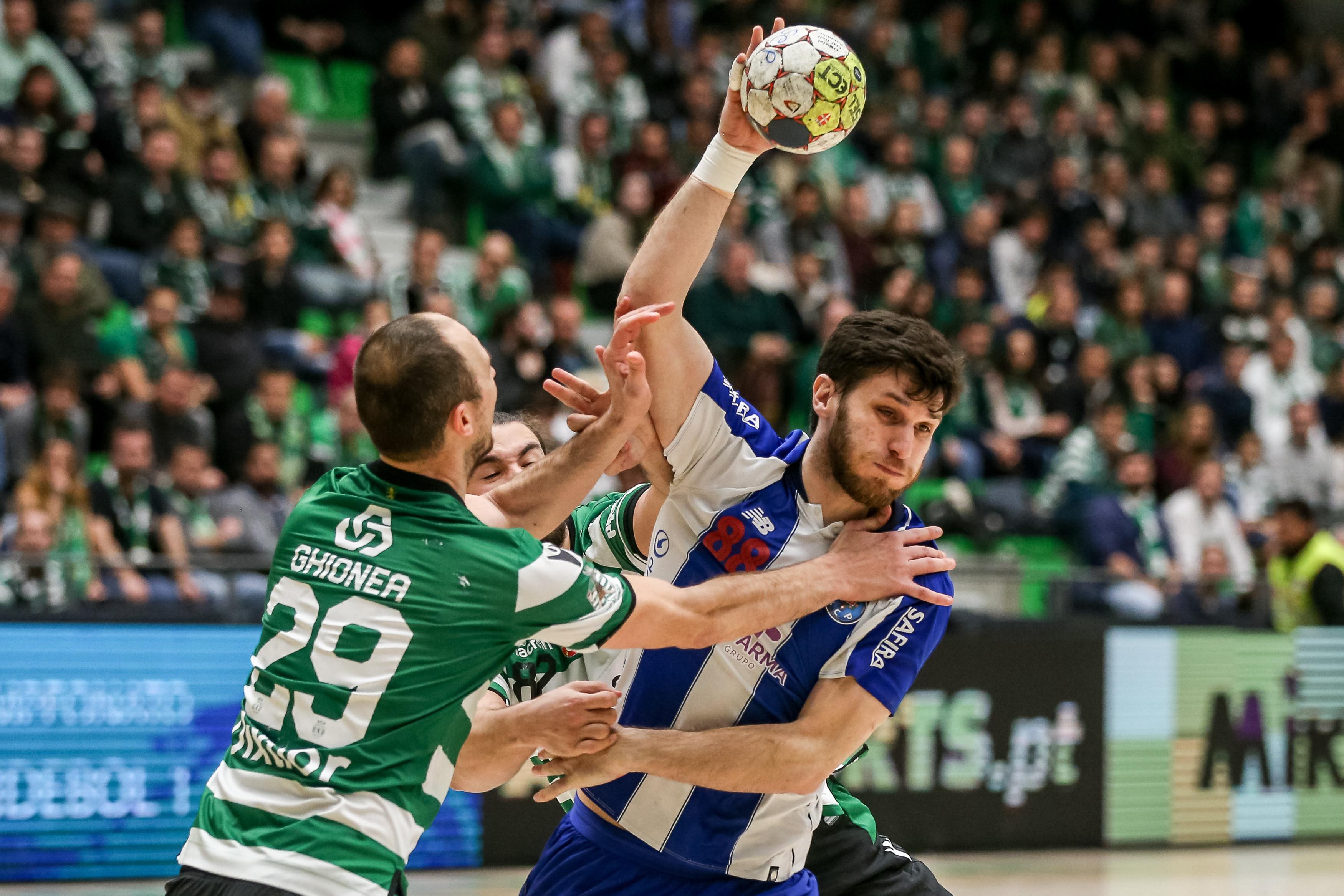 Andebol: FC Porto bate Sporting e está nos 'quartos' da Taça
