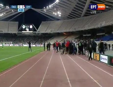 Caos e violência obrigam à suspensão do Panathinaikos-Olympiacos