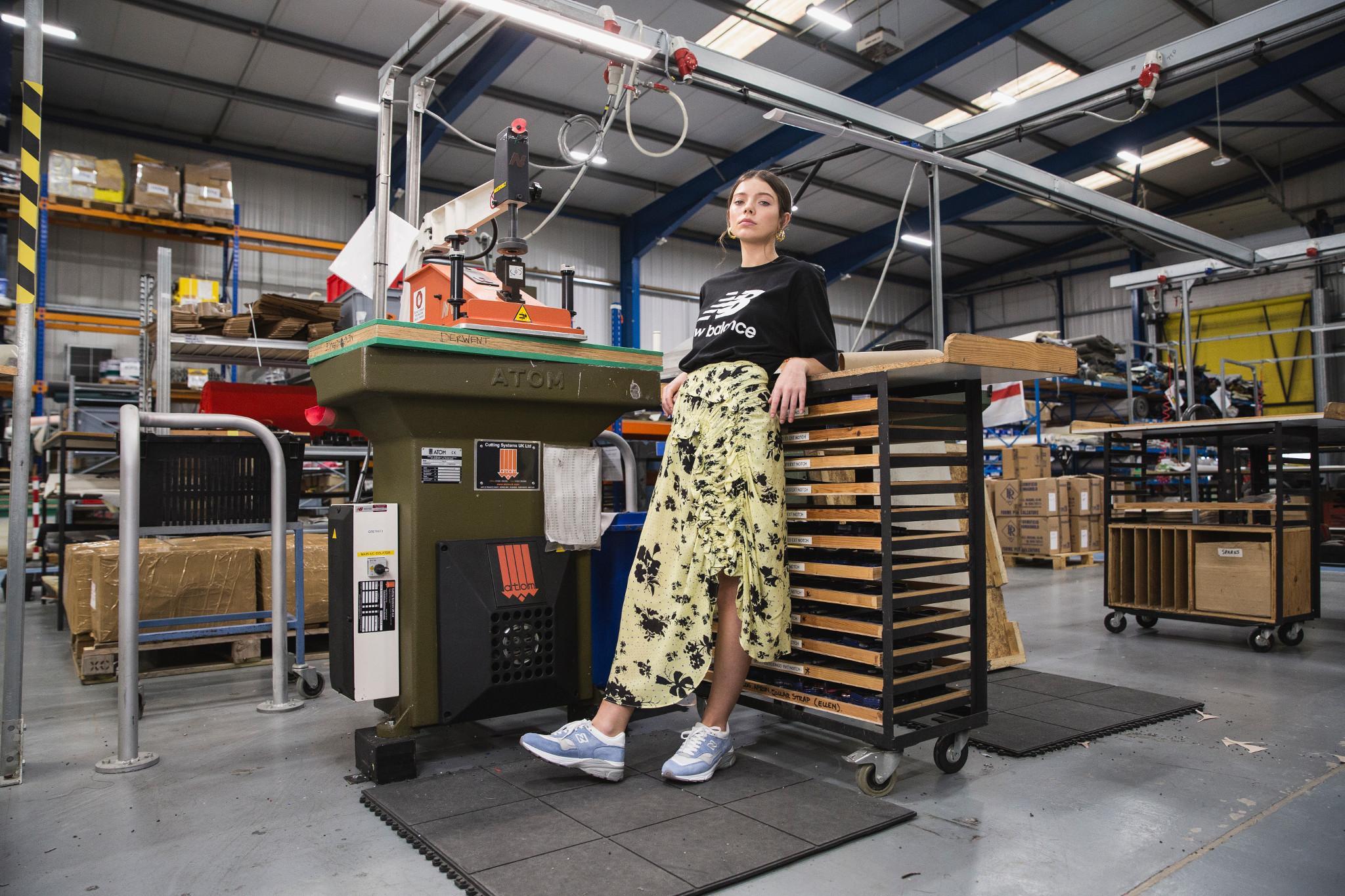 A colecção mais exclusiva da New Balance tem etiqueta 'Made in UK'