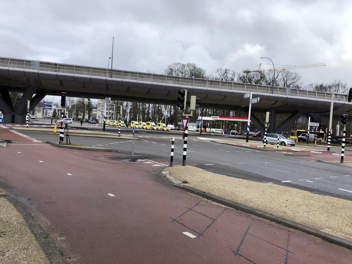 Decorrem operações policiais em duas zonas de Utrecht