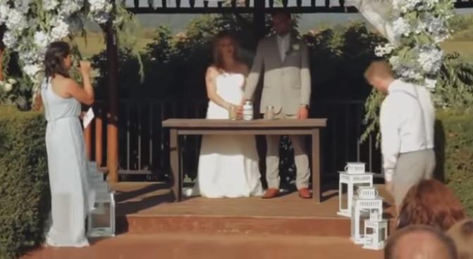 Padrinho desmaia no altar e interrompe casamento