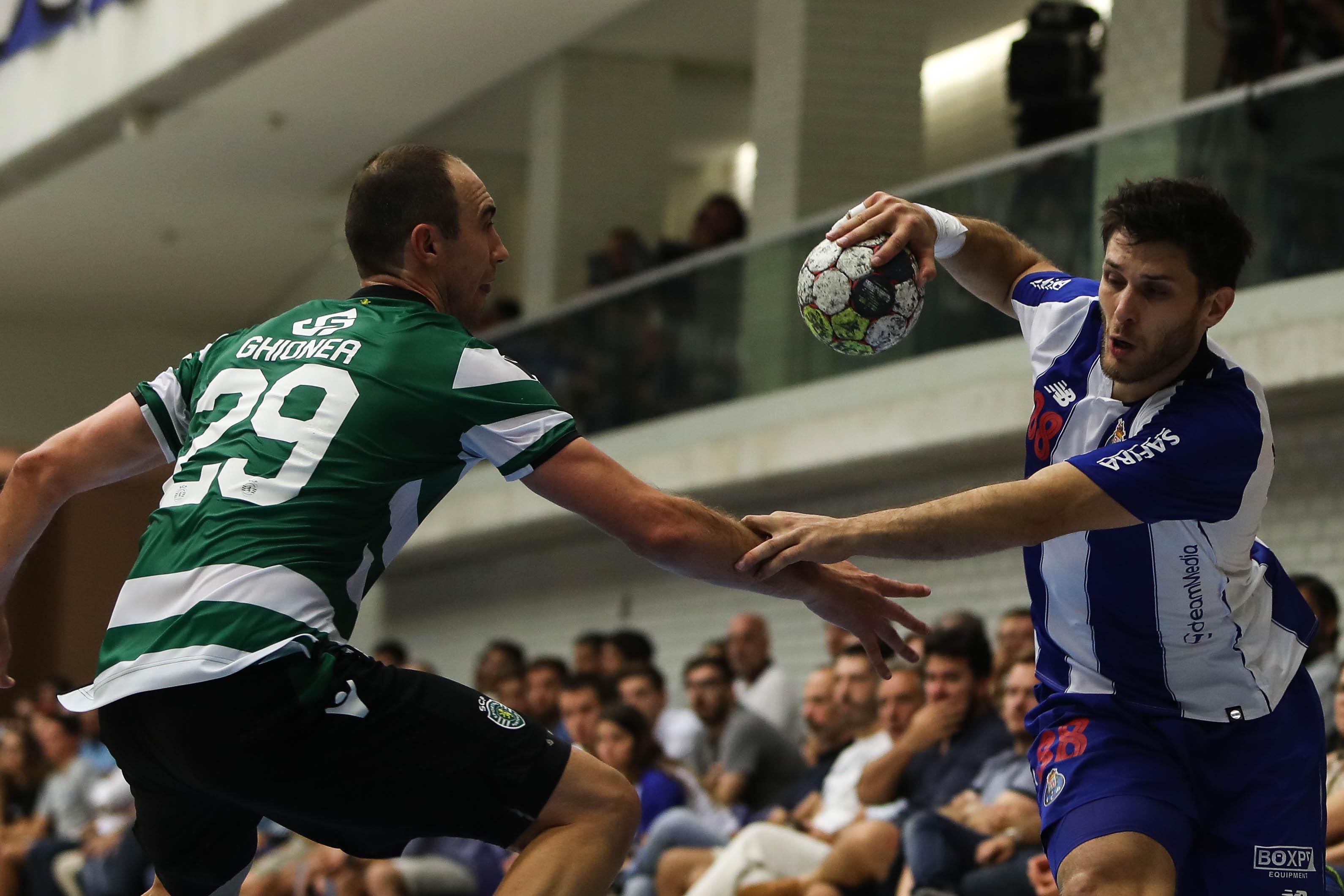 Dirigente de andebol do Sporting revelou que foi ameaçado no Dragão Caixa