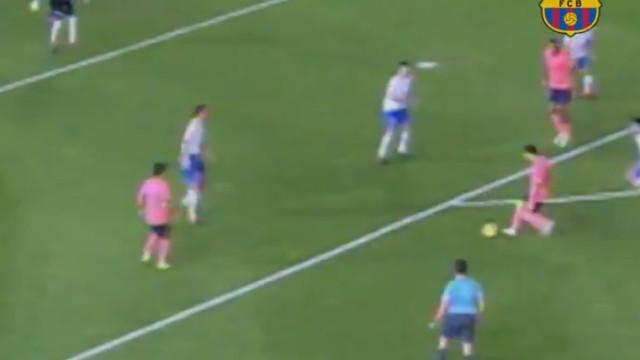 Ainda está espantado com o golo de Messi? Argentino só repetiu a dose