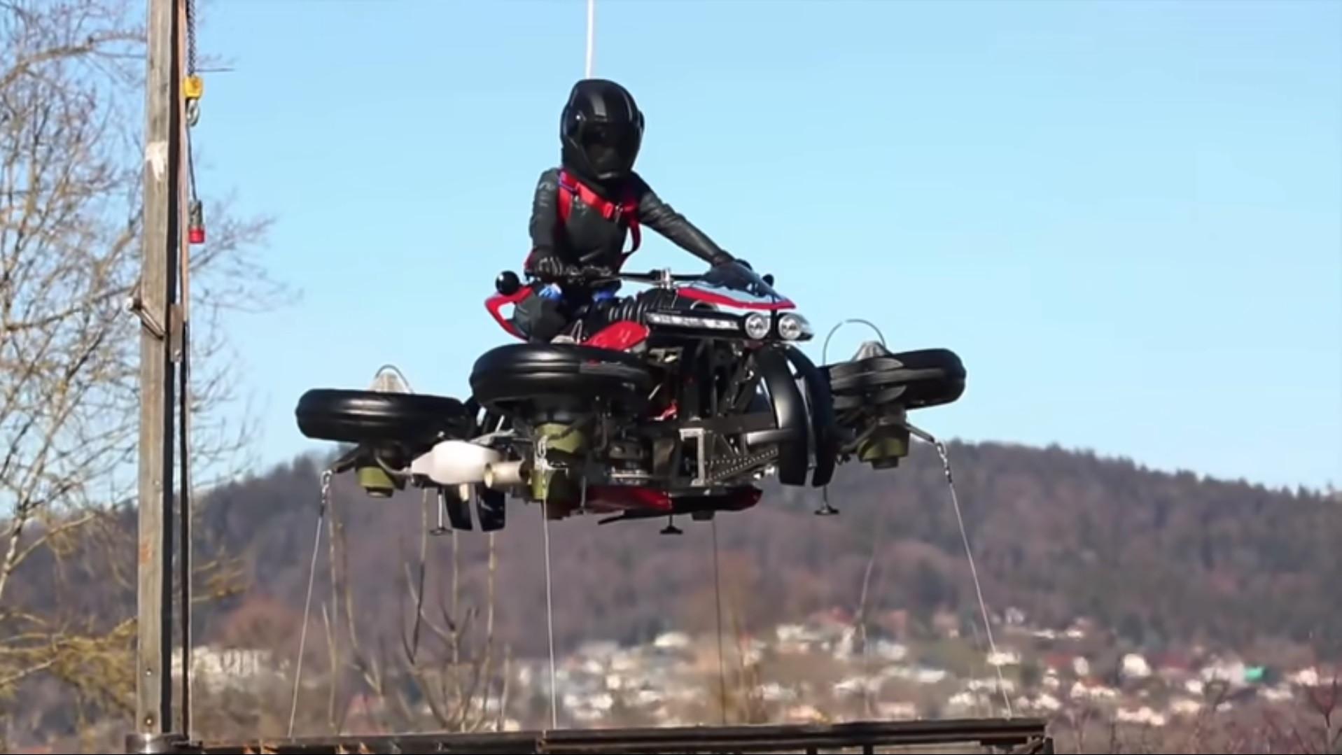 Esta mota quer fasciná-lo na terra e no ar