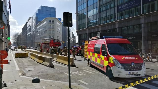 Ameaça de bomba em edifício perto da Comissão Europeia era falsa