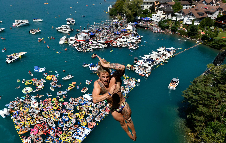 O fascinante mundo dos saltadores da Red Bull Cliff Diving