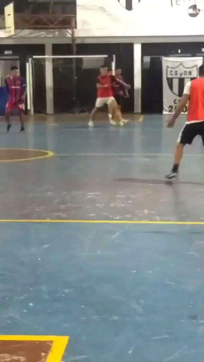 Centurión novamente no centro de polémica e à pancada em jogo de futsal
