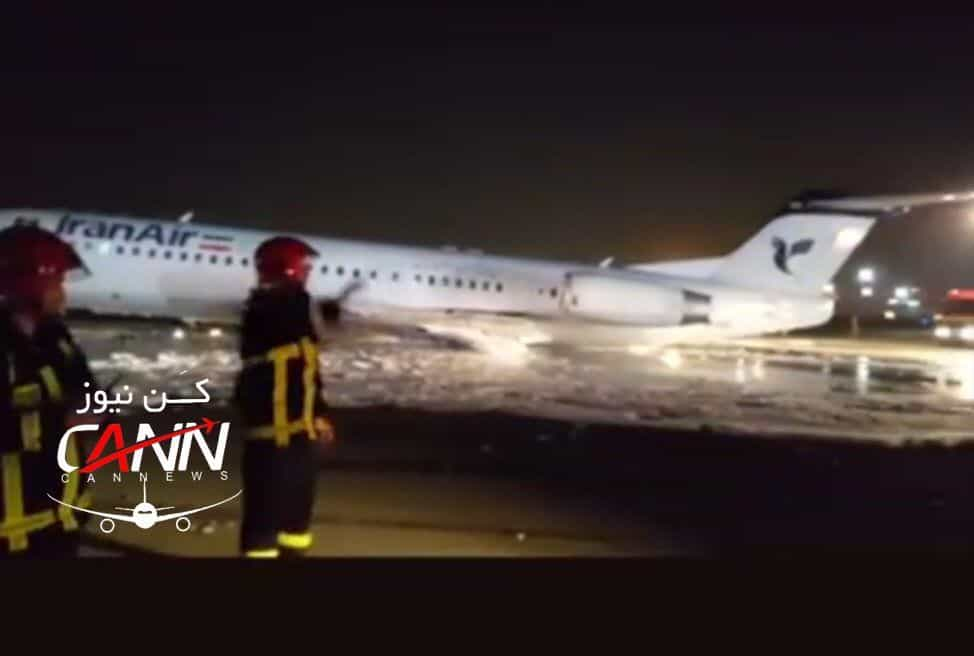 Avião incendeia-se no aeroporto de Teerão com 50 pessoas a bordo