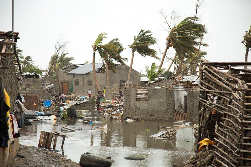 Chuva e mau tempo assusta Moçambique um mês depois do ciclone