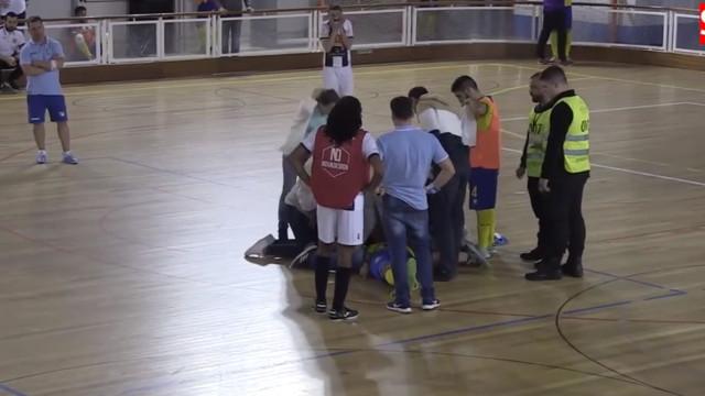 Futsalista português morreu em campo: Foi assim que tudo aconteceu