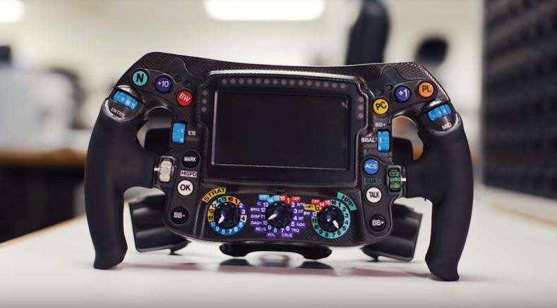 Botões e... mais botões. Como funciona, afinal, um volante de um F1?